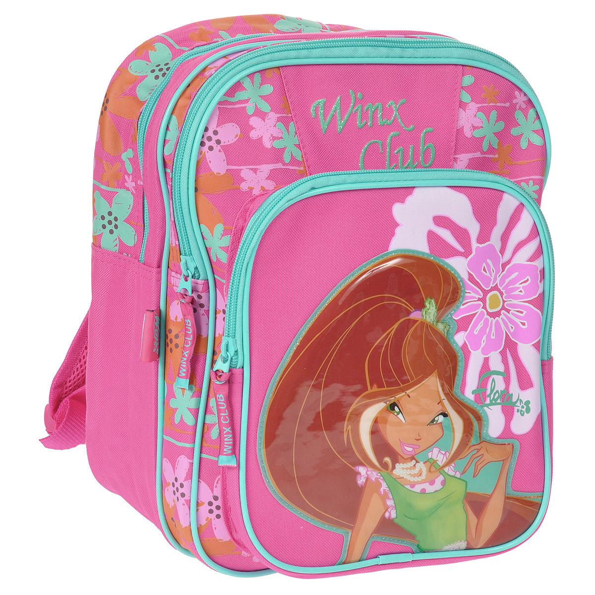 "Рюкзак школьный Winx Club ""Fairy diary"", №1, цвет: розовый. 20736"