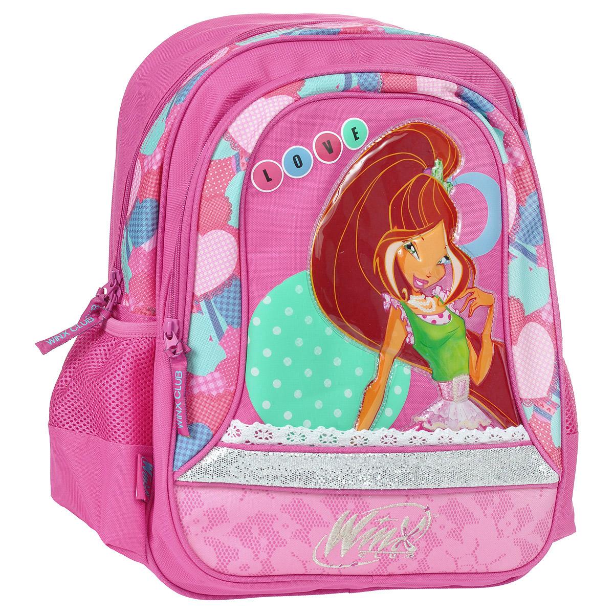 "Рюкзак школьный Winx Club ""Fairy diary lace"" 20742"