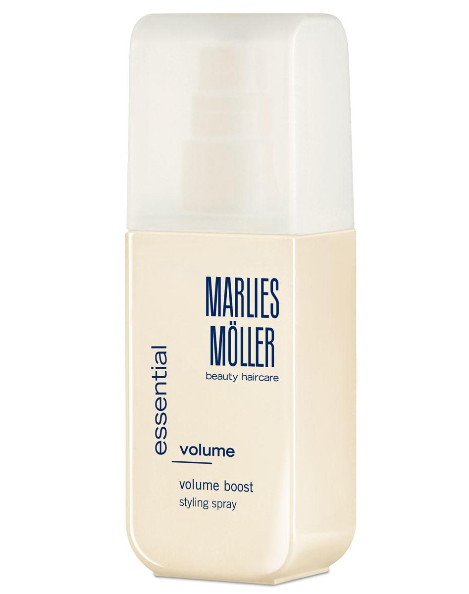 Marlies Moller Спрей Styling для придания объема волосам, 125 мл25684MMsСпрей для укладки волос придает объем на долгое время благодаря «эффекту туши для ресниц». Содержит экстракт хлопка, укрепляющий структуру волос от корней до самых кончиков. Применение : нанесите средство на подсушенные полотенцем корни волос, затем по всей длине. Для получения большего эффекта объема при укладке используйте фен.