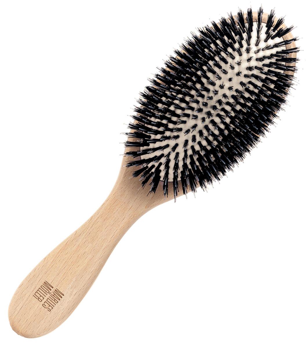 Marlies Moller Щетка для волос, очищающая, маленькая27121MMsМаленькая щетка Marlies Moller для очищения волос удаляет средства укладки, загрязнения. Делает волосы блестящими и шелковистыми.