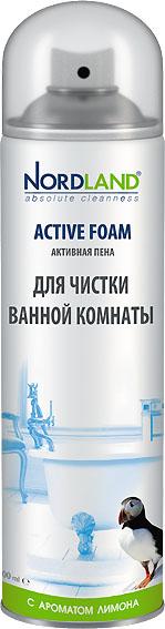 """Пена """"Nordland"""" для чистки ванной комнаты, с ароматом лимона, 600 мл 392371"""