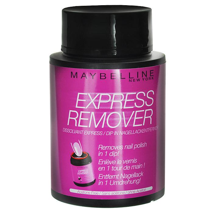 Maybelline New York Экспресс-средство для снятия лака, с экстрактом миндяля, 75 млB2200200Опусти, покрути, готово.