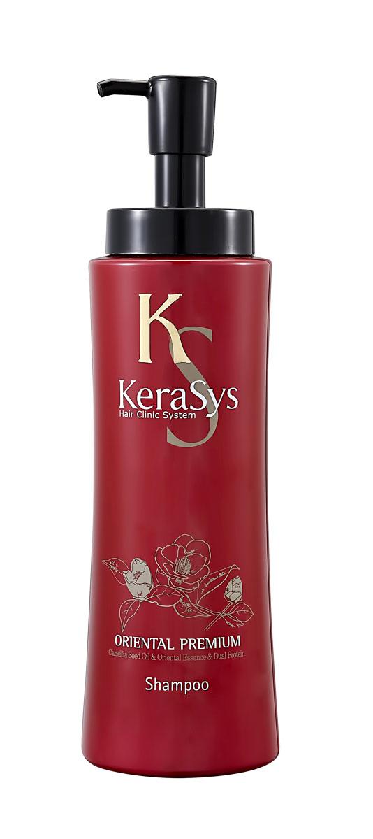 Шампунь KeraSys. Oriental Premium для волос, 470 мл870976Шампунь KeraSys. Oriental Premium защищает от ультрафиолетовых лучей. Восточные травы помогают защитить кожу головы от вредных воздействий и компенсируют нехватку коже липидов. Присутствующие в составе ингредиенты укрепляют корни волос. Дуопротеин восстанавливает поврежденные волосы. Кератин делает поврежденные волосы более здоровыми и шелковистыми. Типы волос: для всех типов волос. Характеристики: Объем: 470 мл. Артикул: 0976. Товар сертифицирован.