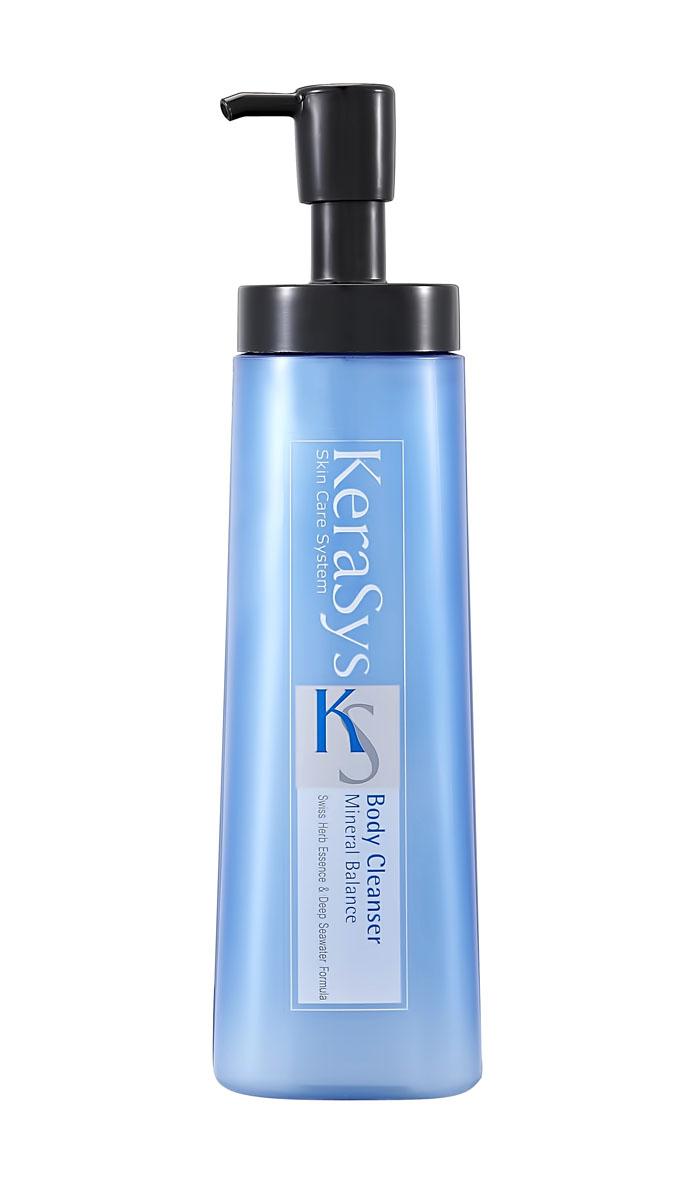 Гель для душа KeraSys. Mineral Balance, 580 мл869284Гель для душа KeraSys. Mineral Balance содержит в своем составе экстракты альпийских трав и морские минералы, которые успокаивают и регенерируют вашу кожу, что делает ее более здоровой и красивой. Гель для душа обладает ароматом грейпфрута и зеленых оливок, надолго придающих ощущение свежести вашей коже. Подходит для жирного типа кожи. Характеристики: Объем: 580 мл. Артикул: 9284. Товар сертифицирован.