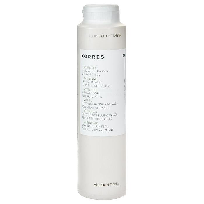 Korres Очищающий гель с белым чаем, 150 мл5203069043Очищающий гель Korres с белым чаем обогащен натуральными экстрактами. Подходит для любого возраста и всех типов кожи, обезвоженной. Прозрачный легкий гель, несильно пенящийся, дарящий великолепное ощущение свежести. Он пробуждают эпидермис и наполняют клетки кожи энергией. Созданный на основе 100% натуральных очищающих агентов, гель с белым чаем глубоко очищает и освежает кожу, не пересушивая ее. Очень легко смывается. Подходит для снятия макияжа. Инновации средства: сочетание микроэлементов - настоящий завтрак для кожи, обеспечивающий потребности в увлажнении и энергии, сохраняет естественный pH кожи. Используется утро/вечер для лица и глаз.