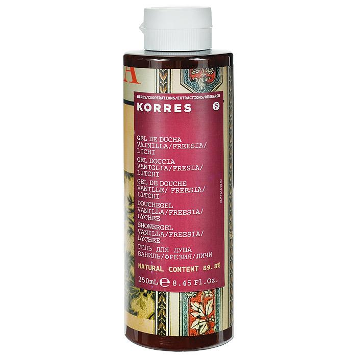 Korres Гель для душа Ваниль, 250 мл5203069041891Гель для душа Korres Ваниль обладает приятным ароматом ванили и корицы. Кремовая пена геля оказывает увлажняющий эффект с пролонгированным эффектом. Чистая, увлажненная кожа тела с приятным ароматом.