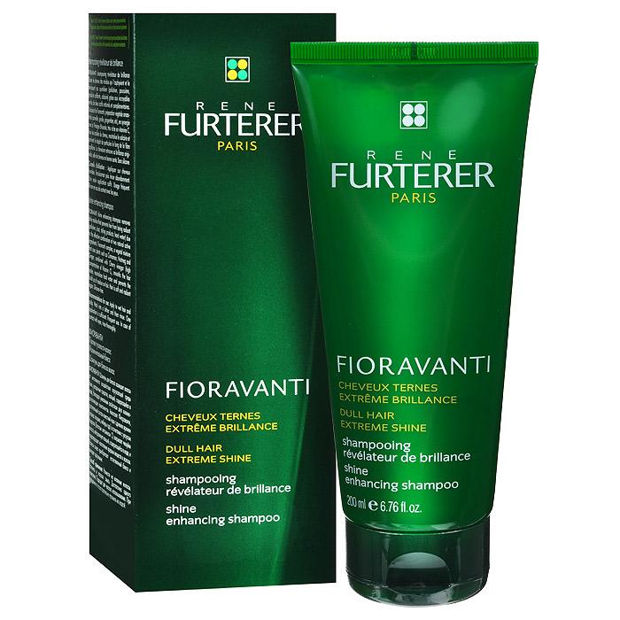 Rene Furterer Шампунь Fioravanti для блеска волос, 200 мл3282779357623Шампунь Rene Furterer Fioravanti имеет мягкую моющую основу и содержит специальные катионные полимеры, придающие красоту волосам. Волосы получают дополнительный блеск и эластичность. Разглаживаются и дисциплинируются непослушные волосы, обеспечивая легкую укладку. Содержащийся в шампуне фруктовый уксус чилийской вишни Ацерола превосходно нейтрализует кальций, содержащийся в воде, делая волосы необыкновенно мягкими. Активные компоненты : Растительный комплекс Фиораванти - экстракты растений обволакивают стержень волоса и приглаживает чешуйки, придавая волосам блеск, мягкость и эластичность. Уксус чилийской вишни Ацеролы - превосходно нейтрализует кальций, содержащийся в воде, смягчая ее. Это позволяет придать волоса необыкновенную мягкость. Благодаря кислотному Рh чешуйки волоса приглажены, а волосы блестящие и упругие. Специальный катионный комплекс «anti-pollution» - защищает волосы от пыли и органических загрязнений окружающей среды. Мягкая...