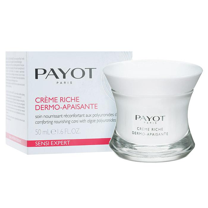 Payot Крем Sensi Expert питательный, возвращающий комфорт, для чувствительной кожи, 50 мл65079697Успокаивающий питательный крем Payot Sensi Expert с полиуронидами водорослей. Крем ежедневно питает, успокаивает и смягчает кожу, уменьшая ее раздражимость. Идеален для любителей комфортных текстур. Обладает насыщенной питательной текстурой. Уменьшает раздражимость кожи, успокаивает и уменьшает чувство дискомфорта, повышает сопротивляемость кожи, питает. Активные компоненты : Полиурониды водоросли. Противовоспалительное действие, уменьшают чувство жжения и покраснения. Усиливают иммунную защиту кожи. Уменьшают раздражимость кожи. Фитосквален+ полидецены. Укрепляют эпидермальный барьер, защищают от внешней агрессии, уменьшают сухость кожи. Смягчают и защищают. Микроэлемент. Противовоспалительные и антиоксидантные свойства, успокаивают и увлажняют. Успокаивают и увлажняют. Применение : наносить утром и вечером на кожу лица, шеи и декольте.