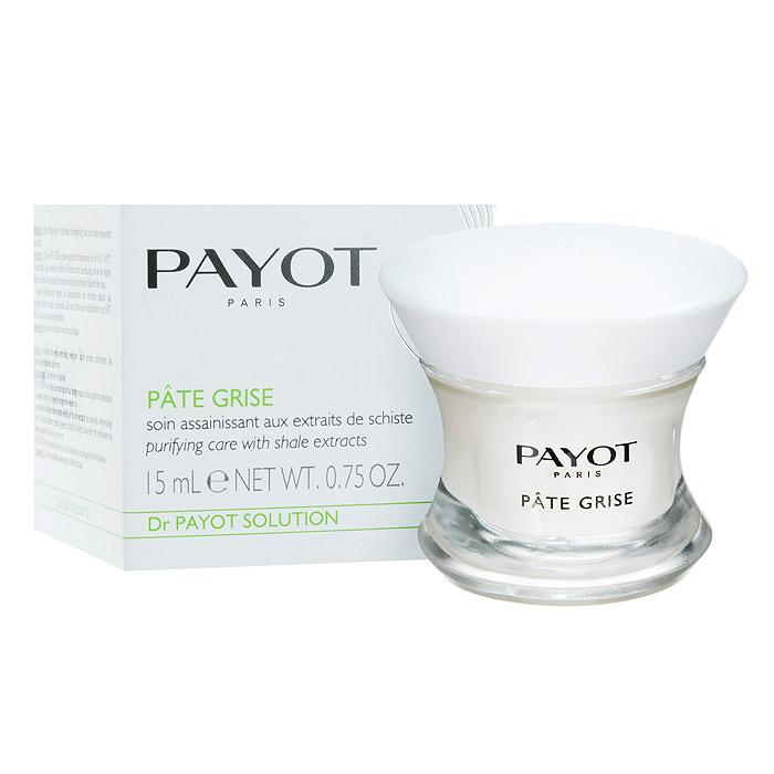 Payot Очищающая паста, для жирной кожи, 15 мл65069986Очищающая паста Payot - продукт, который справляется с проблемой угревой сыпи максимально быстро, вытягивая инфекцию из самого сердца акне, снимая болезненность и убирая воспаление. Она не устраняет проблему сразу, но за ночь ускоряет процесс созревания инфекции. Паста не только удаляет уже имеющуюся угревую сыпь, но и препятствует новым появлениям воспалений. Сладкий миндаль успокаивает чувствительные области кожи. Ихтиол - мощный антисептик, который помогает регулировать секрецию сальных желез и уменьшает угревую сыпь. Характеристики: Объем: 15 мл. Артикул: 65069986. Производитель: Франция. Товар сертифицирован.