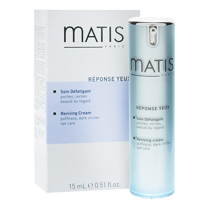 Matis Восстанавливающий крем для кожи вокруг глаз, 15 мл37551Восстанавливающий крем Matis - средство для эффективной борьбы с признаками усталости и придания сияния контуру глаз. Крем помогает избавиться от темных кругов под глазами. Увлажняет и разглаживает кожу вокруг глаз. Продукт обладает инновационной текстурой, обогащенной корректирующими пигментами, которые позволяют мгновенно придать коже сияние, зрительно осветляют круги под глазами и ретушируют морщинки. Кремовая текстура дарит удивительный комфорт и удовольствие при нанесении. Без отдушек. Применение : Использовать как крем в области глаз: наносить на очищенную кожу вокруг глаз утром и/или вечером. Возможно использование в качестве маски: 1 - 2 раза в неделю наносить на кожу вокруг глаз (избегайте подвижной части век) на 10 минут.