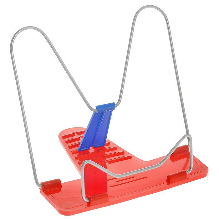 Action! Подставка для книг Fancy цвет красныйFBH01Классическая металлическая подставка для книг Action! Fancy станет незаменимым аксессуаром на столе у школьника или студента. Подставка оснащена упором, благодаря чему она имеет несколько углов наклона.