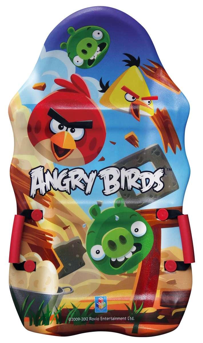 Ледянка 1toy Angry Birds, длина 94 смТ56333Ледянка с красочным дизайном героев популярной игры Angry Birds. Несмотря на то, что ледянка очень легкая и прочная, на ней можно кататься практически с любых горок. Изготовлена из прочного вспененного пластика. Ледянка имеет плотные ручки. Яркий рисунок будет долго держаться даже при интенсивном катании.