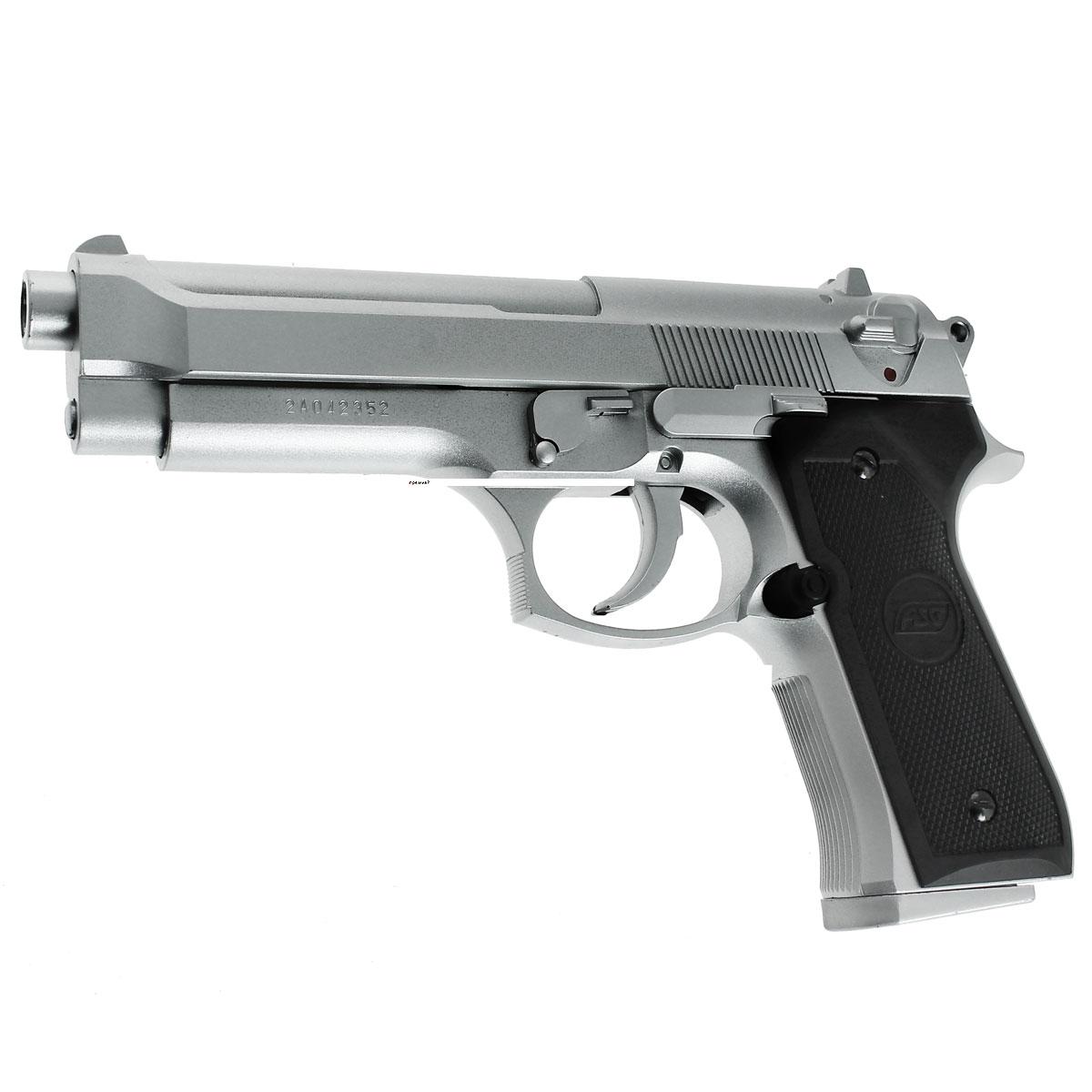 """ASG ASG """"M92FS"""" пистолет страйкбольный, spring, 6 мм (14098)"""