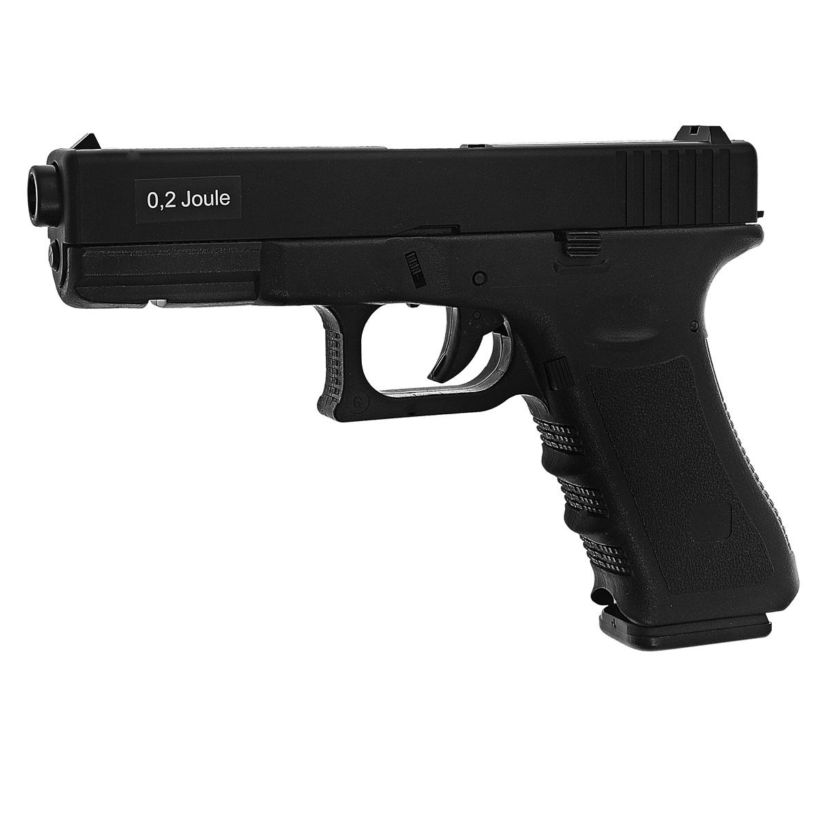 ASG G17 HW �������� �������������, spring, 6 �� (11110) - ASG11110������������� �������� G17 HW �� ������������ �������� � ������� ������������. ������ ������� �� ����������� ������ Glock 17. ������������ �� ������ ����������� ���������� � ������� ����� ���� - ���, ���, ��� - � ������� � ������������ �������. � ������� Weaver/Picatinny ��� ������� ��� ��������� ������ ��� �������. ����������� ������� ������� �������� ��������� ������. � ��������� ���� ��������� �������� ������� (����� 100 ��.). � ������������� ���-�� (���������� ���������� ��������� ������ ������). ����� ����� � 204 �� ����� ������: 90 �� ������ � 6 �� (���� ��� ����������) ������� ������� - 0,2 �� ������� ��������� 14 ������� 6 �� ������� �������� �� ABS-�������� ��� �������� - ��������� ���������� (������� ������ ����������� ����� ������� ��������) ��������� ����������, ��� ������������� ���������� ���������� ������� ������������: ������� � ����������� ��������� � ������ ����������� ��� �����, �� ����������� ��...