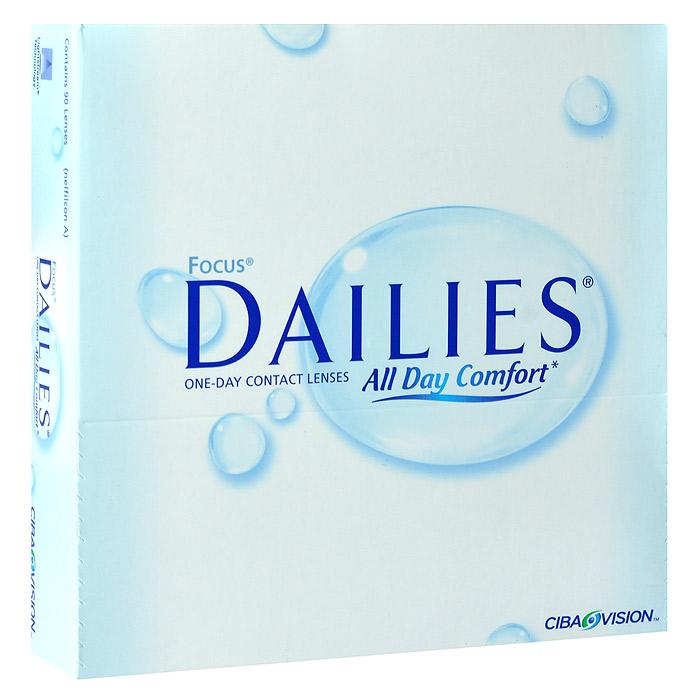 CIBA контактные линзы Dailies All Day Comfort (90шт / 8.6 / -1.50)43860Контактные линзы Dailies All Day Comfort - это однодневные контактные линзы от всемирно известного производителя CIBA VISION. Эти линзы не нуждаются в уходе и не требуют дополнительных расходов. Контактные линзы обладают идеальной точностью и подходят более чем 90% людей, нуждающихся в коррекции зрения. Dailies All Day Comfort изготавливаются из нейлонового материала нелфилкон А. Этот современный и безопасный материал дарит вам ощущение полного комфорта на весь день. Для большего удобства в обращении линзы имеют слабую тонировку. Неоспоримым достоинством Dailies All Day Comfort является запатентованная технология компании Ciba - Aqua Comfort. Внутри линзы содержится увлажняющий агент, который выделяется при моргании. Это позволяет вашим глазам оставаться увлажненными в течение всего срока ношения. Dailies All Day Comfortи изготавливаются совершенно новым методом Light Technology, благодаря чему линзы получаются сверхтонкими с идеально ровными краями. Стоит отметить,...