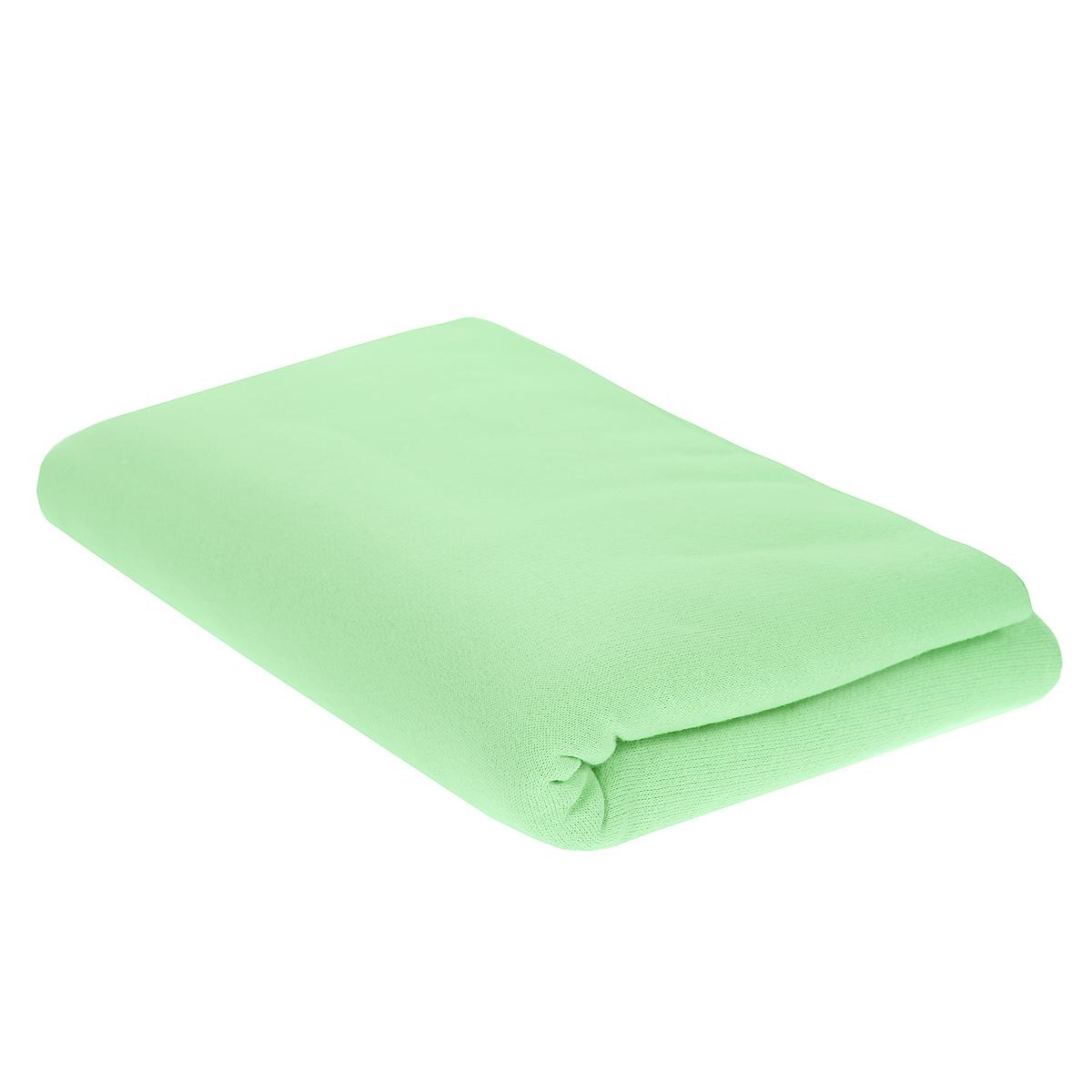 Пеленка детская Трон-Плюс, цвет: салатовый, 120 см х 90 см5411 сДетская пеленка Трон-Плюс подходит для пеленания ребенка с самого рождения. Она невероятно мягкая и нежная на ощупь. Пеленка выполнена из футера - хлопчатобумажной ткани с небольшим начесом с изнаночной стороны. Такая ткань прекрасно дышит, она гипоаллергенна, обладает повышенными теплоизоляционными свойствами и не теряет формы после стирки. Мягкая ткань укутывает малыша с необычайной нежностью. Пеленку также можно использовать как легкое одеяло в теплую погоду, простынку, полотенце после купания, накидку для кормления грудью или как согревающий компресс при коликах. Ее размер подходит для пеленания даже крупного малыша. Характеристики: Размер пеленки: 120 см x 90 см.