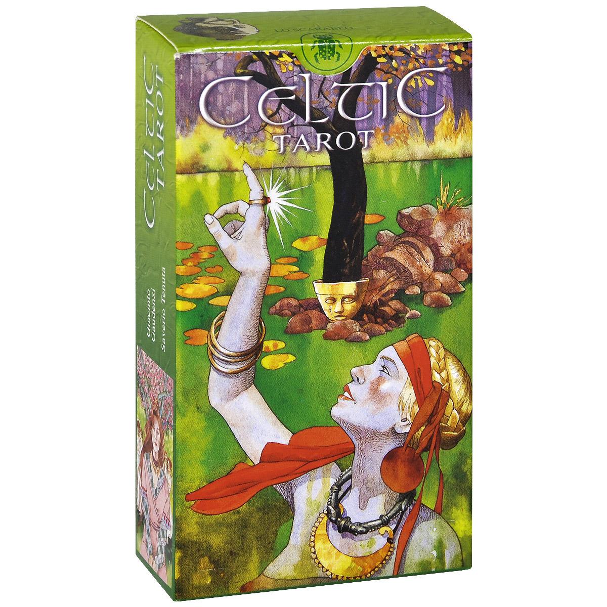 Карты Кельтские Таро, 78 карт951312Таро - это универсальный инструмент, который можно использовать множеством разных способов. Таро может помочь вам прояснить прошлое, сделать верные выборы сегодня и предвидеть возможные будущие результаты. Колода карт Кельтские Таро, основанная на образах кельтской мифологии, является воплощением современной трактовки древней кельтской магии и мифов. Этот набор будет интересен не только гадателям, но и тем, кто увлекается историей и культурой кельтов. Карты нарисованы двумя итальянскими художниками: Giacinto Gaudenzi создал старшие арканы, а Saverio Tenuta - младшие. Каждая карта - маленькое путешествие в древний загадочный мир, каждый Аркан - источник эзотерических традиций древних кельтов. Не зря один из самых популярных раскладов Таро называется кельтский крест. Эта колода позволит вам прикоснуться к неизведанному миру одной из самых загадочных культур, окунуться в их культуру и традиции. Родина кельтов - Древняя Англия - наследница магических знаний Древнего...