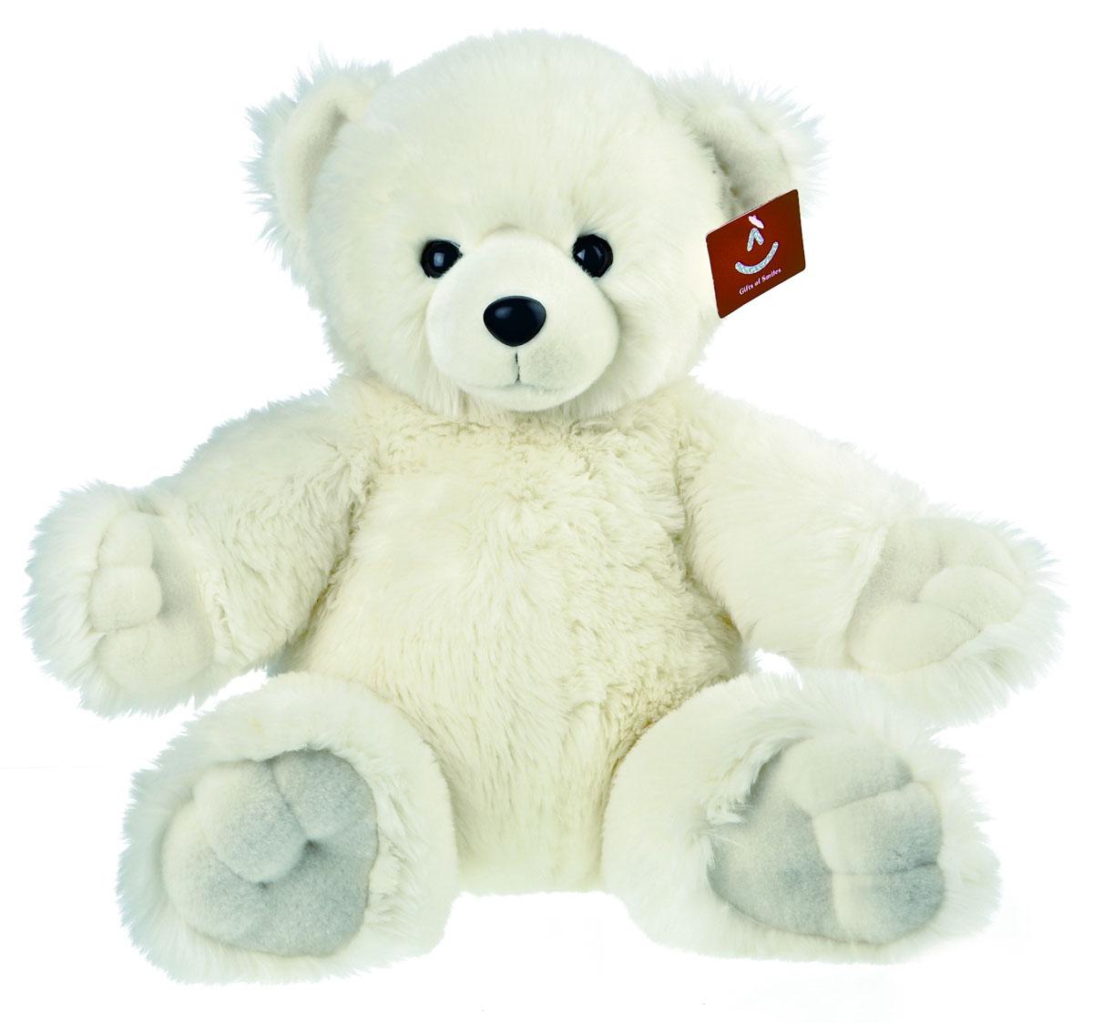 Мягкая игрушка Медведь. Обними меня, цвет: белый, 72 см68-610Очаровательная мягкая игрушка Медведь. Обними меня, выполненная в виде медвежонка белого цвета, вызовет умиление и улыбку у каждого, кто ее увидит. Удивительно мягкая игрушка принесет радость и подарит своему обладателю мгновения нежных объятий и приятных воспоминаний. Она выполнена из высококачественного искусственного меха с набивкой из гипоаллергенного синтепона. Великолепное качество исполнения делают эту игрушку чудесным подарком к любому празднику. Характеристики: Высота игрушки: 72 см. Высота игрушки в сидячем положении: 47 см. Материал игрушки: искусственный мех, текстиль, пластик. Материал набивки: синтепон. Изготовитель: Индонезия.