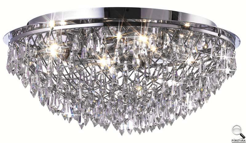Светильник потолочный Markslojd Harpsund. 102448102448Потолочный светильник Markslojd Harpsund отлично впишется в интерьер Вашего дома. Он хорошо смотрится как в классическом, так и в современном помещении, на штукатурке, дереве или обоях любой расцветки. Для безопасной и надежной коммутации светильника в сеть на корпусе светильника установлена клеммная колодка. Светильник дает яркий ровный сфокусированный световой поток в выбранном направлении. Светильники и люстры - предметы, без которых мы не представляем себе комфортной жизни. Сегодня функции люстры не ограничиваются освещением помещения. Она также является центральной фигурой интерьера, подчеркивает общий стиль помещения, создает уют и дарит эстетическое удовольствие. Характеристики: Материал: металл, хрусталь. Размер светильника: 22 см х 43,5 см. Количество лампочек: 4 (не входят в комплект). Размер упаковки: 19 см х 46 см х 46 см.