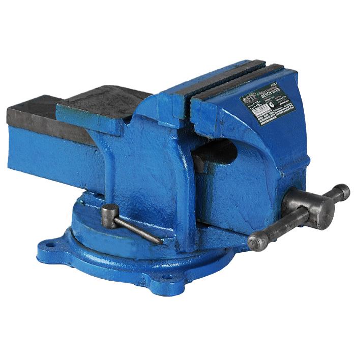 Станочные поворотные усиленные тиски Fit Bench Vices, 125 мм59728Станочные поворотные усиленные тиски Fit это прочное дополнительное оборудование для фрезерного или сверлильного станка. Зажимные губки надежно фиксируют заготовку в нужном месте. Данные тиски поворотные, это значительно упрощает работу.