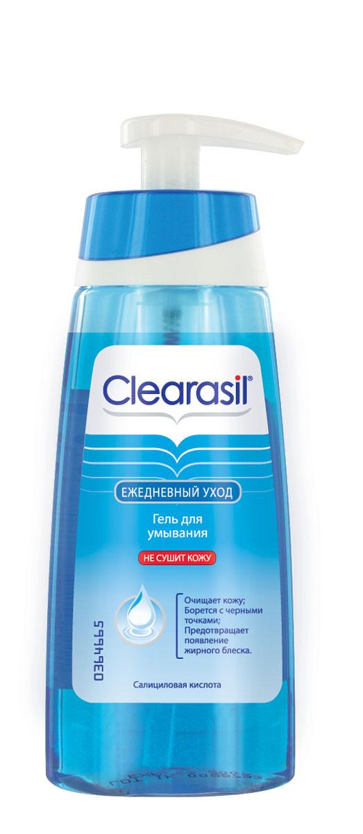 Гель для умывания Clearasil Stayclear, 150 мл7533203Гель для умывания Clearasil Stayclear разработан специально для ежедневного очищения лица. Формула продукта основана на комбинации мягких активных веществ, поэтому гель деликатно очищает кожу, эффективно предотвращая появление прыщей. Данное средство не содержит жиров, что позволяет коже выглядеть не только чистой, но и свежей. Не сушит кожу. Активный компонент: Салициловая кислота 2% -эффективный ингредиент в борьбе за чистоту кожи. Она проникает глубоко в поры и способствует отшелушиванию омертвевших клеток кожи, а также помогает снять воспаление и покраснение.