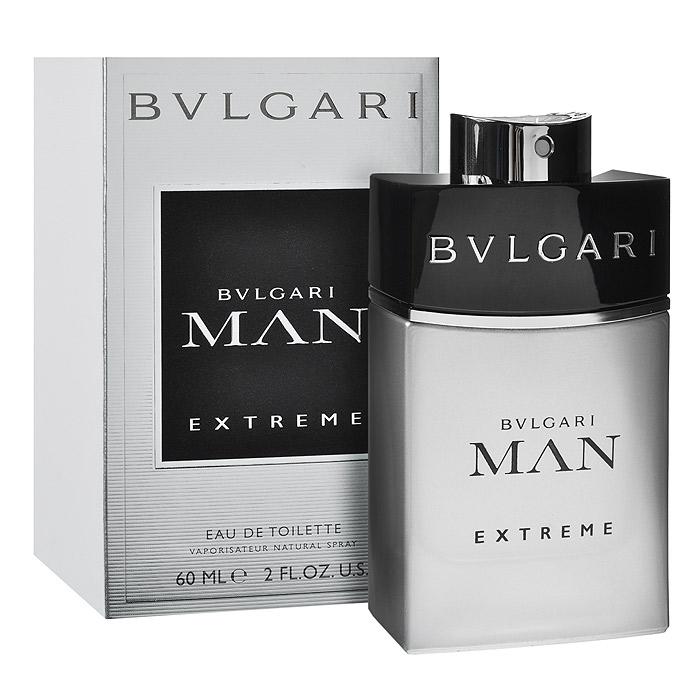 Bvlgari Туалетная вода Man Extreme, для мужчин, 60 мл