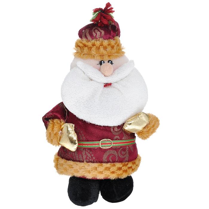 Новогоднее украшение Санта, 22 см. 2261822618Новогоднее украшение выполнено из текстиля в виде Санта Клауса. Вы можете поставить его в любом месте, где оно будет удачно смотреться, и радовать глаз. Кроме того, это украшение - отличный вариант подарка для ваших близких и друзей. Новогодние украшения всегда несут в себе волшебство и красоту праздника. Создайте в своем доме атмосферу тепла, веселья и радости, украшая его всей семьей.
