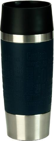 Термо-кружка Emsa Travel Mug, цвет: синий, 0,36 л. 513357513357Простая и гармоничная форма термо-кружки Emsa Travel Mug, выполненного из ударопрочного пластика и стали, удовлетворит желания любого потребителя. Термо-кружка имеет самый популярный и необходимый объем в 0,36 литра. Кружка имеет специальную систему быстрого закрытия-открытия. Кружка открывается нажатием на кнопку-пресс, расположенную в середине, и также легко закрывается. Разнообразие цветов обеспечивает индивидуальный подход к каждой кухне! Кружка помогает сохранять температуру напитка в течение 4 часов для горячих температур и 8 часов для холодных. Правила безопасности: Не заливайте в термобокал газированные напитки, не кладите сухой лед. Не ставьте термобокал на теплую или горячую плиту, в микроволновую печь или духовку. Изолирующий сосуд не должен использоваться для молочных продуктов и детского питания (опасность размножения бактерий). При заполнении термобокала не наклоняйте голову над отверстием кружки. Все изолирующие сосуды Emsa...