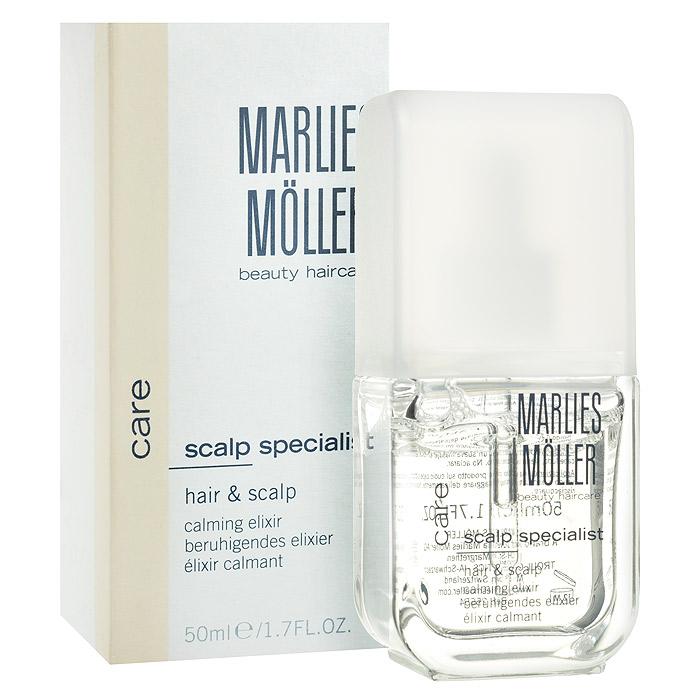 Marlies Moller Эликсир Specialist для кожи головы и волос, успокаивающий, 50 мл