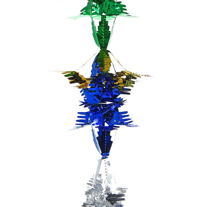 Новогодняя гирлянда Magic Time, цвет: мульти, 2,5 м. 3097930979Новогодняя гирлянда «Magic Time» прекрасно подойдет для декора дома или офиса. Украшение выполнено из разноцветной металлизированной фольги. С помощью специальных петелек его можно повесить в любом понравившемся вам месте. Легко складывается и раскладывается. Новогодние украшения несут в себе волшебство и красоту праздника. Они помогут вам украсить дом к предстоящим праздникам и оживить интерьер по вашему вкусу. Создайте в доме атмосферу тепла, веселья и радости, украшая его всей семьей. Коллекция декоративных украшений из серии Magic Time принесет в ваш дом ни с чем несравнимое ощущение волшебства! Характеристики: Материал: металлизированная фольга (ПВХ). Цвет: мульти. Длина гирлянды: 2,5 м. Размер гирлянды (в собранном виде): 19,5 см х 19,5 см. Размер упаковки: 25 см х 20 см х 1 см. Артикул: 30979.