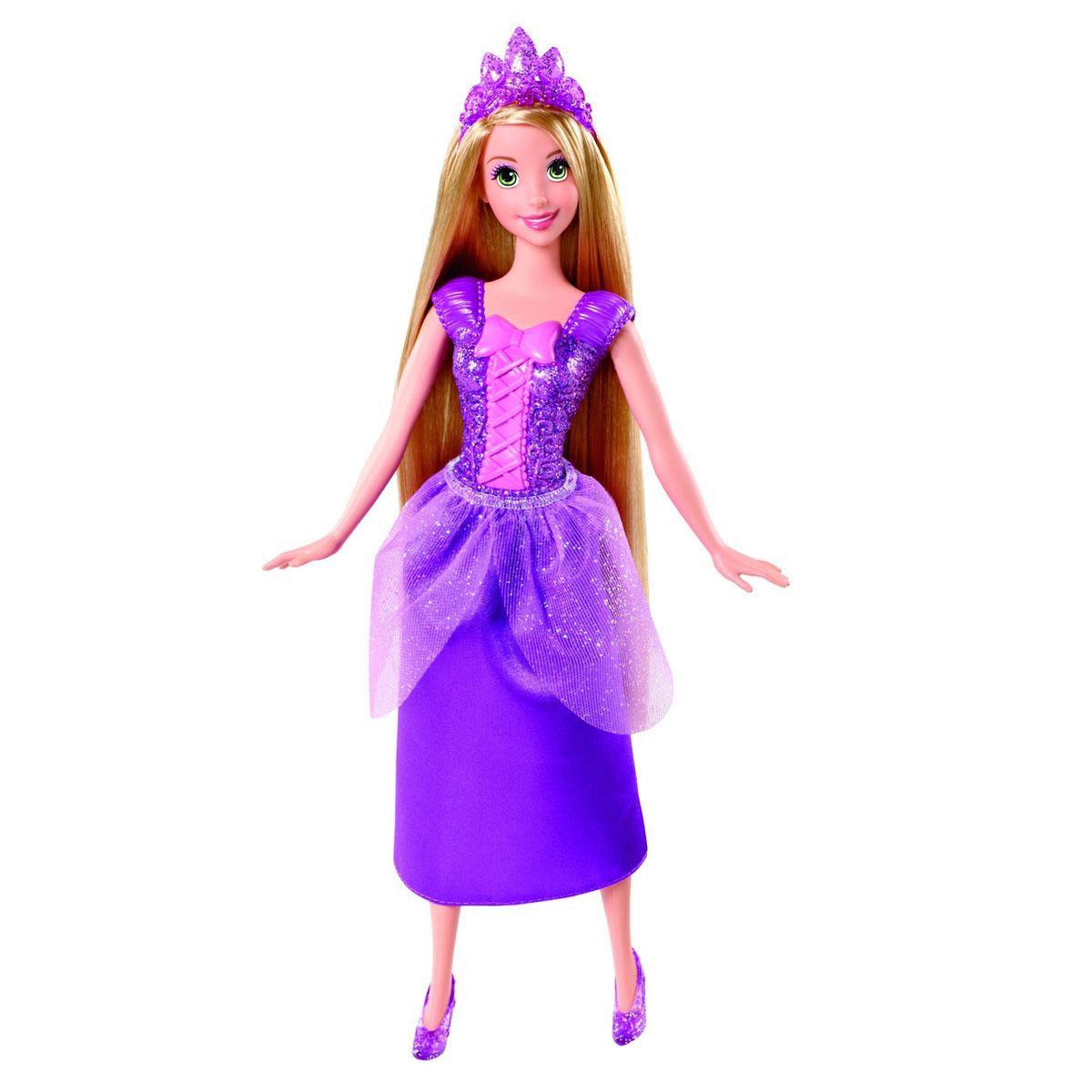 Disney Princess Кукла Принцесса в сверкающем наряде Рапунцель