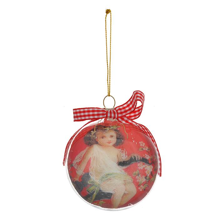 Новогоднее подвесное украшение Девочка. 3195231952Круглое объемное новогоднее украшение Девочка выполнено из стекла, внутренняя стенка которого декорирована очаровательным изображением маленькой девочки. С помощью специальной петельки украшение можно повесить в любом понравившемся вам месте. Но, конечно, удачнее всего такая игрушка будет смотреться на праздничной елке. Новогодние украшения приносят в дом волшебство и ощущение праздника. Создайте в своем доме атмосферу веселья и радости, украшая всей семьей новогоднюю елку нарядными игрушками, которые будут из года в год накапливать теплоту воспоминаний. Коллекция декоративных украшений из серии Magic Time принесет в ваш дом ни с чем несравнимое ощущение волшебства!