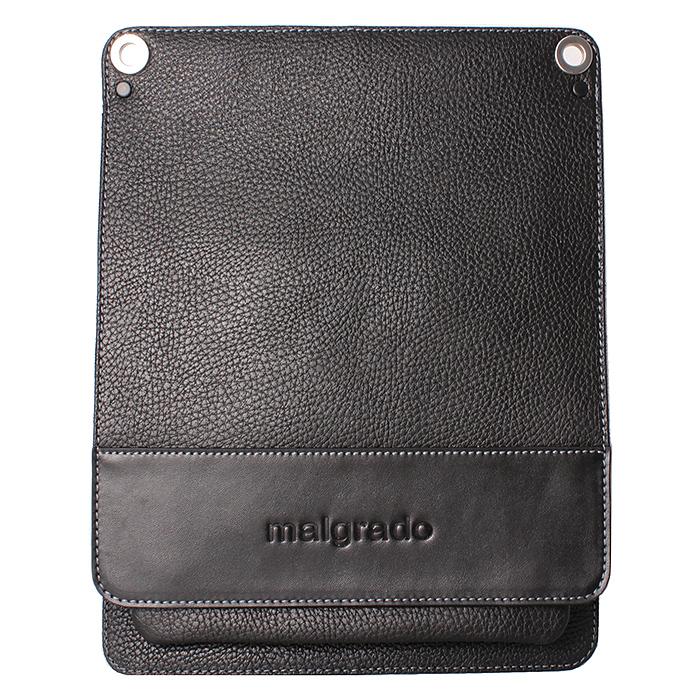 Сумка мужская Malgrado, цвет: черный. BR11-480С1538BR11-480С1538 blackОригинальная мужская сумка Malgrado из натуральной кожи черного цвета. Сумка закрывается клапаном на две внутренние магнитные кнопки. Внутри одно отделение, вшитый карман на кнопке. Под клапаном имеется накладной карман на молнии, в котором расположен кармашек для телефона, два кармашка для визиток и кредитных карт, два кармашка для пишущих принадлежностей. В комплекте плечевой текстильный ремень и чехол для хранения.