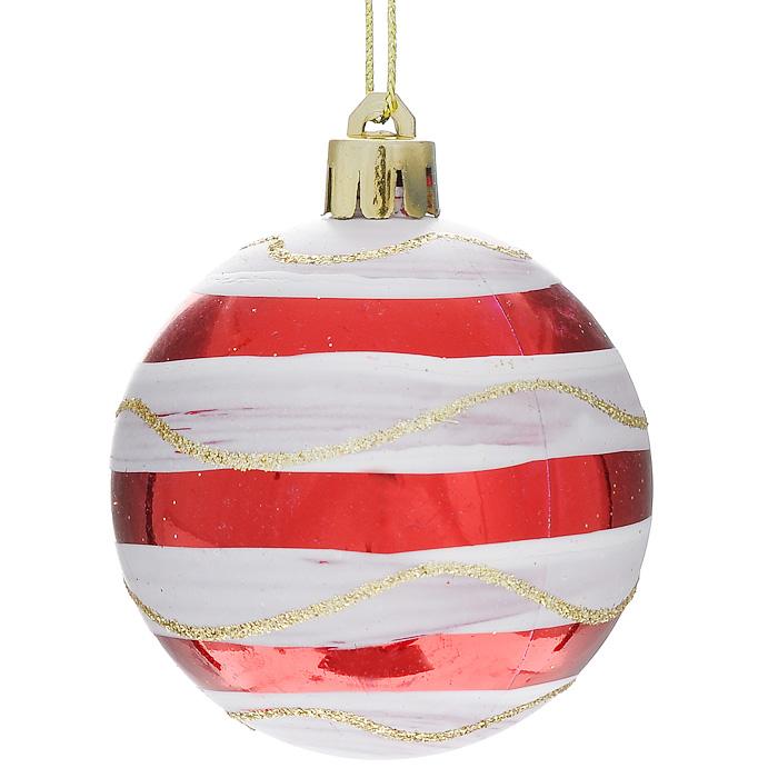 Набор новогодних подвесных елочных украшений Шар, 6 шт. 3232132321Набор подвесных пластиковых украшений украсит новогоднюю елку и создаст теплую и уютную атмосферу праздника. В наборе шесть елочных украшения. Новогодние украшения всегда несут в себе волшебство и красоту. Почувствуйте волшебные минуты ожидания праздника, создайте новогоднее настроение вашим дорогим и близким!