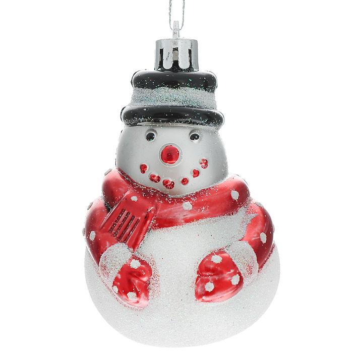 Набор новогодних подвесных елочных украшений Снеговик, 3 шт. 3233632336Набор подвесных пластиковых украшений украсит новогоднюю елку и создаст теплую и уютную атмосферу праздника. В наборе четыре елочных украшения. Новогодние украшения всегда несут в себе волшебство и красоту. Почувствуйте волшебные минуты ожидания праздника, создайте новогоднее настроение вашим дорогим и близким!