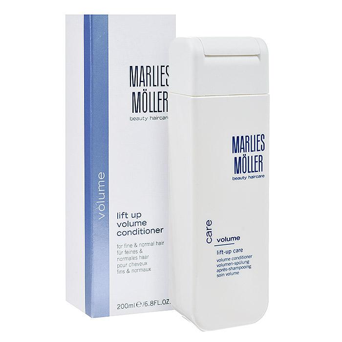 Marlies Moller Кондиционер Volume, для придания объема волосам, 200 мл106600MMsКондиционер Volume для придания объема волосам сделает ваши волосы мягкими и блестящими. Инновационный ухаживающий полимер создаст эффект «отталкивания» волос и обеспечит легкий, воздушный объем, не утяжеляя ваши волосы. Содержит экстракт хлопка. Не содержит силиконов.