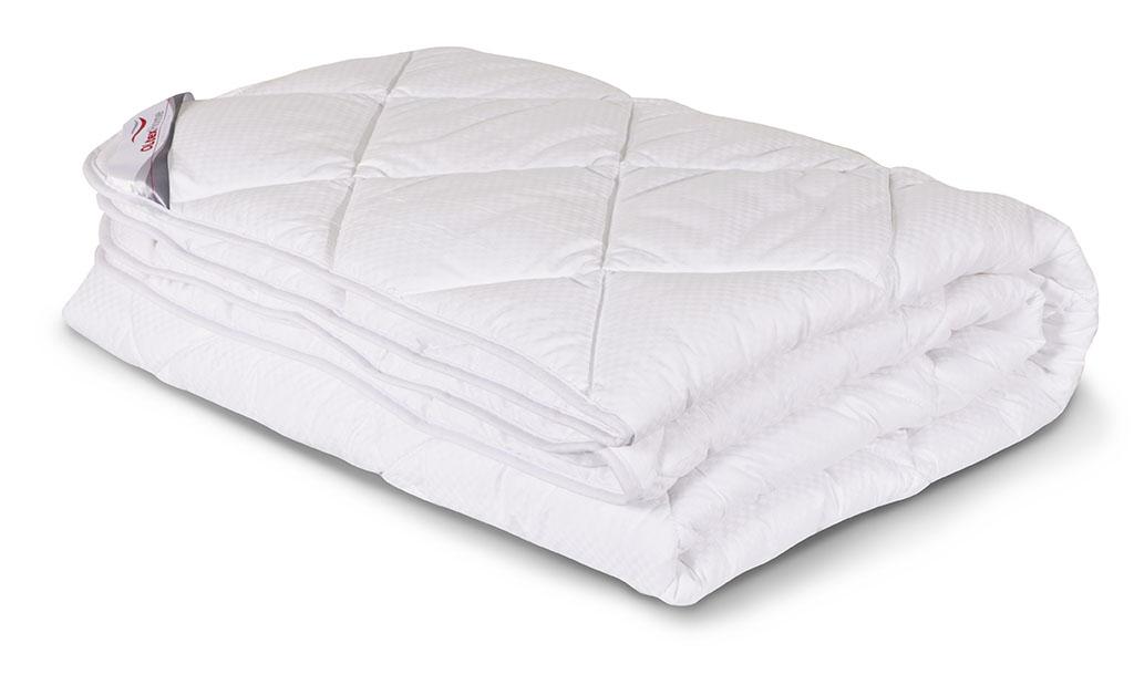 Одеяло всесезонное OL-Tex Богема, наполнитель: микроволокно OL-tex, 140 х 205 смОЛС-15-3Чехол всесезонного одеяла OL-Tex Богема выполнен из мягкого приятного на ощупь сатина-страйп. Наполнитель - высокосиликонизированное микроволокно OL-tex, которое является усовершенствованным аналогом наполнителя Лебяжий пух. Лебяжий пух - это современный заменитель натурального лебяжьего пуха. Искусственный Лебяжий пух сохраняет непревзойденную мягкость и легкость природного материала, но еще обладает и рядом новых достоинств. Лебяжий пух не вызывает аллергии, в изделиях с таким наполнителем не заводится клещ, бактерии, гнили. За подушками и одеялами очень легко ухаживать - их можно стирать в машинке, они быстро и полностью высыхают. Легкое, почти невесомое одеяло, с нежнейшим наполнителем Ol-Tex идеально подходит для сна. Одеяло из коллекции Богема обладает прекрасными терморегулирующими свойствами, гиппоаллергенно. Сохраняет форму и объем даже при многократных стирках. Одеяло OL-Tex Богема упаковано в пластиковый чехол на змейке с ручками, что...