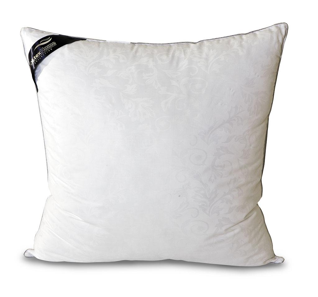 Подушка OL-Tex Nano Silver, цвет: белый, 68 х 68 смОЛСС-77-1Чехол подушки OL-Tex Nano Silver выполнен из мягкого приятного на ощупь материала сатин-жаккард (100% хлопок). Наполнитель - сверхтонкое высокосиликонизированное волокно OL-tex с ионами серебра. О чудотворном действии серебра люди знали давно. Благодаря использованию наполнителя с ионами серебра, изделия приобретают уникальные потребительские свойства. Серебро убивает бактерии, вызывающие неприятные запахи, микробов и клещей, обитающих в домашней пыли. Изделия с ионами серебра идеально подходят для людей, страдающих от аллергии. Серебро, благодаря высокой электрической проводимости, рассеивает электростатическое напряжение, накопившееся за день на коже из-за обилия синтетической одежды, работы за компьютером и др. А также в холодную погоду, благодаря способности серебра к терморегуляции, постель лучше сохраняет тепло. В жару одеяла и подушки с включением серебра ускоряют испарение влаги, создавая комфортную среду. Подушка OL-Tex Nano Silver - достойный выбор...