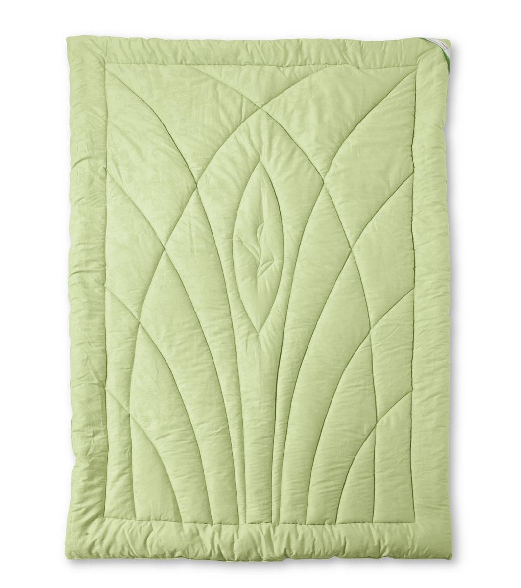 Одеяло теплое OL-Tex Эвкалипт, наполнитель: эвкалиптовое волокно, цвет: салатовый, 140 х 205 смОЭС-15-4Чехол теплого одеяла OL-Tex Эвкалипт выполнен из мягкого приятного на ощупь сатина салатового цвета. Наполнитель - волокно на основе эвкалипта с полиэстером. Эвкалипт - это дерево, которое относится к семейству миртовых. Еще в древние времена люди ценили полезные свойства эвкалипта. Его антисептические, антибактериальные и освежающие качества полностью сохранены в волокнах, используемых в наполнителях подушек и одеял коллекции Эвкалипт. Экологически чистое, натуральное волокно формирует комфортный микроклимат спального места - подушки и одеяла этой коллекции гипоаллергенны, не впитывают запахи и отторгают пыль. Изделия с наполнителем из эвкалиптовых волокон подарят вам оздоровляющий и освежающий эффект, успокаивающий сон. Великолепное одеяло с эксклюзивным простеганным рисунком и зеленым атласным кантом. Нарядное, теплое, легкое, не теряет своих свойств после многократных стирок. Наполнитель из эвкалиптового волокна регулирует влажность и теплообмен, создавая эффект...