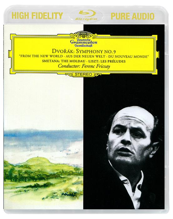 Ferenc Fricsay. Dvorak. Symphony No.9 / Smetana. The Molda / Liszt. Les Preludes (Blu-Ray Audio) 1960