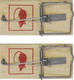 Мышеловка FIT, 10 см х 4,5 см, 2 шт