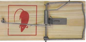 Мышеловка FIT, 18 х 8,5 см67810Мышеловка FIT имеет деревянную основу и прочный стальной механизм, который безотказно срабатывает при попадании грызуна внутрь конструкции. Данный инструмент применяется для ловли мышей дома и на даче. Характеристики: Материал: металл, дерево. Размер мышеловки: 18 см х 8,5 см. Размер упаковки: 23 см х 10 см х 1,5 см.