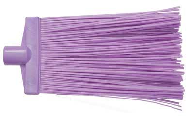 Метла полипропиленовая, большая, цвет: фиолетовый