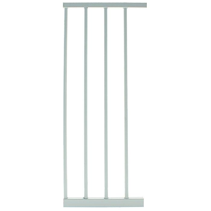 Дополнительная секция к защитным воротам Lindam Sure Shut, цвет: белый, 28 см4449901Дополнительная секция к защитным воротам Lindam Sure Shut, выполненная из металла белого цвета подходят к Lindam Sure Shut Orto 75-82 см, Lindam Sure Shut Porte 75-82 см, Lindam Sure Shut Axis 75-82 см и Lindam Easy Fit Plus 75-81 см. Дополнительная секция позволяет увеличить ширину ворот на 28 см. С каждой стороны ворот можно устанавливать по 2 дополнительных секции и даже более, если не уменьшается их устойчивость.
