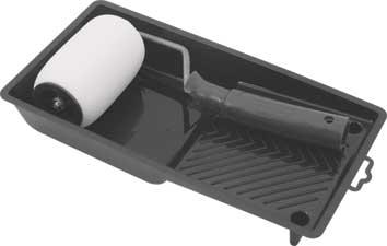 Валик поролоновый FIT, 100 мм с ванночкой