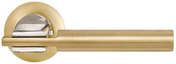 Ручка дверная Palladium City - Rio, цвет: золото, хром