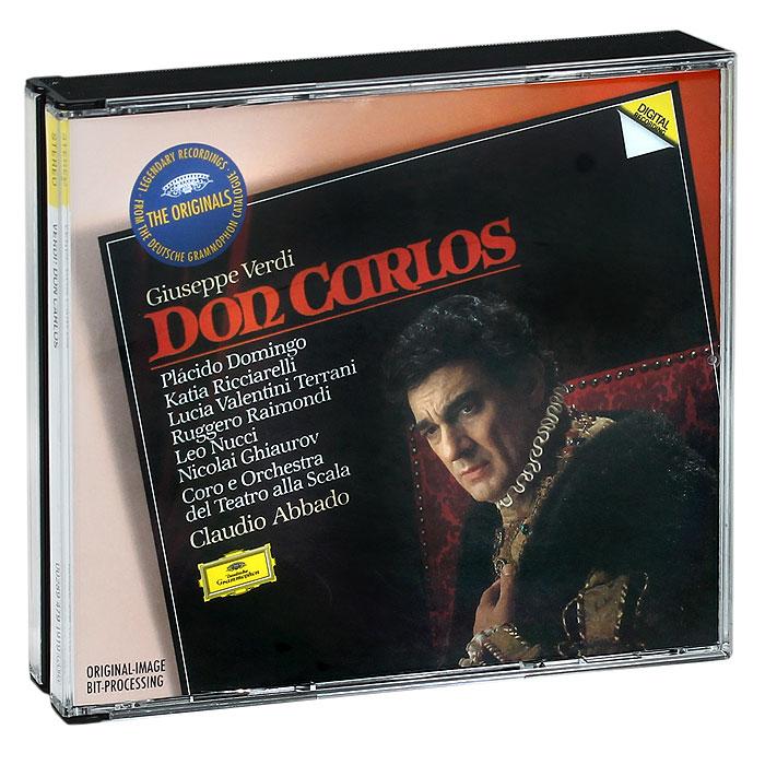 Claudio Abbado. Verdi. Don Carlos (3 CD)