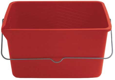 Ведро для краски FIT, 12 л, цвет: красный04022Ведро FIT используется для работы с краской. Характеристики: Материал: пластик. Размеры ведра: 35 см х 25 см х 20 см. Размеры дна ведра: 29,5 см х 20 см. Объем: 12 л. Размер упаковки: 35 см х 25 см х 20 см. Производитель: Китай. Артикул: 04022.