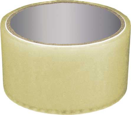 Скотч упаковочный прозрачный РОС, 60 м х 4,8 х 50 мкр 11106