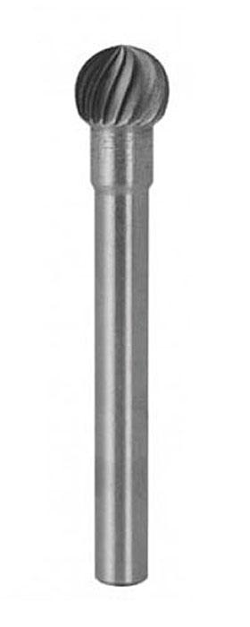 Шарошка карбидная по металлу FIT сферическая, 3 мм. 36583